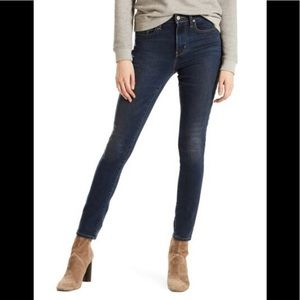 Women's Levi's 721 High Rise Skinny Stretch Jeans